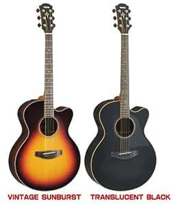 YAMAHA ヤマハ アコースティックギター CPX1200II (CPX-1200II) セミハードケース付き トランスルーセントブラック