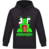 Thombase UNSPEAKABLE Kids YouTube Gamer Hoody T-Shirt for Boys Girls Tees Tops