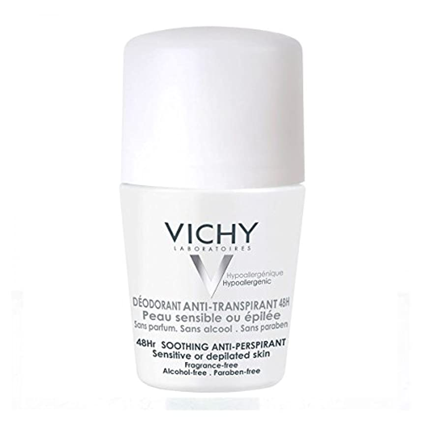 展望台ブランク毎回Vichy Deodorant 48h Sensitive Or Shaved Skin 50ml [並行輸入品]