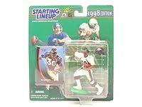 TERRELL DAVIS / DENVER BRONCOS 1998 NFL Starting Lineup Action Figure & Exclusive NFL Collector Trading Card