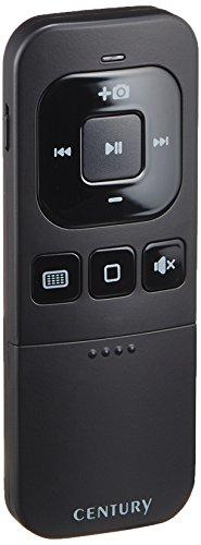 センチュリー Bluetooth接続マルチメディアリモコン iRemote Shutter ブラック CIA-BTMR-BK