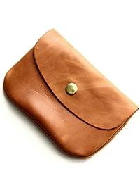 フォコン FAUCON ホークカンパニー パケ メンズ レディース マルチケース 本革 オールレザー 小さい 財布 (12-3410) ブラウン