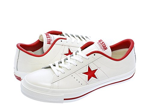 [コンバース] CONVERSE ONE STAR J WHITE/RED 【MADE IN JAPAN】 【日本製】