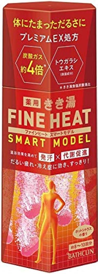 メンタープランターコンデンサーきき湯ファインヒート スマートモデル400g ×6点