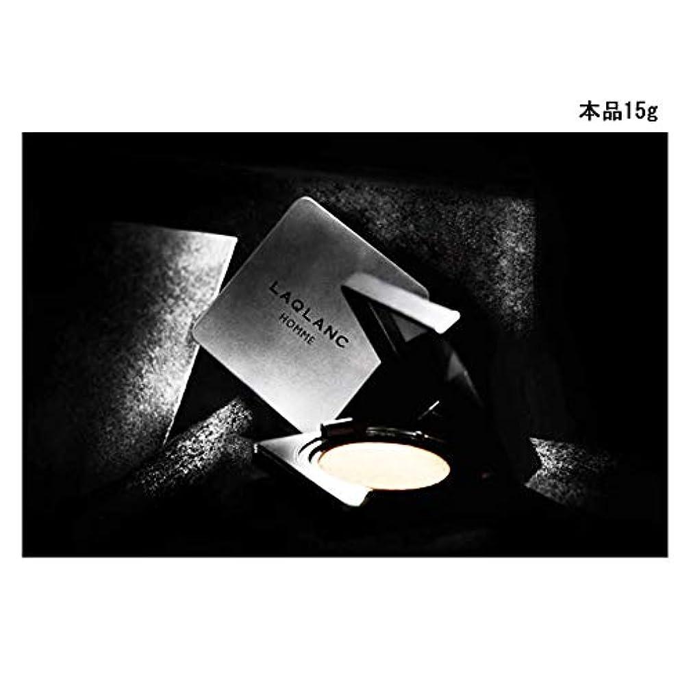 センチメンタル貪欲シンカン(Laqlanc)大人気 10秒完成 ナチュラル 肌色アップ 紫外線遮断 ホワイトニング 男性 エアクッション 15g [海外配送品] [並行輸入品]