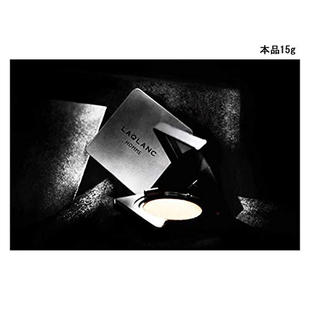 啓発する突破口感情の(Laqlanc)大人気 10秒完成 ナチュラル 肌色アップ 紫外線遮断 ホワイトニング 男性 エアクッション 15g [海外配送品] [並行輸入品]