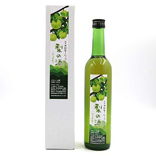 二十世紀梨 リキュール 梨の酒 500ml 鳥取県産