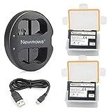Newmowa EN-EL15 EN-EL15a 互換バッテリー 2個 + 充電器 セットNikon EN-EL15 EN-EL15a Nikon 1 V1, D600, D610, D750, D800, D800E, D810, D850, D7000, D7100,D7200