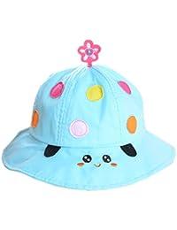 薩牧徳赤ちゃん帽子日よけベビー キャップつば広い紫外線防止  uvカット 春夏