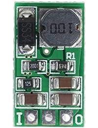 1A DC降圧コンバータ?モジュール5?40V?3V 3.3V 3.7V 5V 6V 7.5V 9V 12V(緑色3.7V)