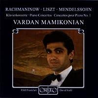 Mamikonian Plays Liszt, Mendelssohn and Rachmaninov (2000-02-08)