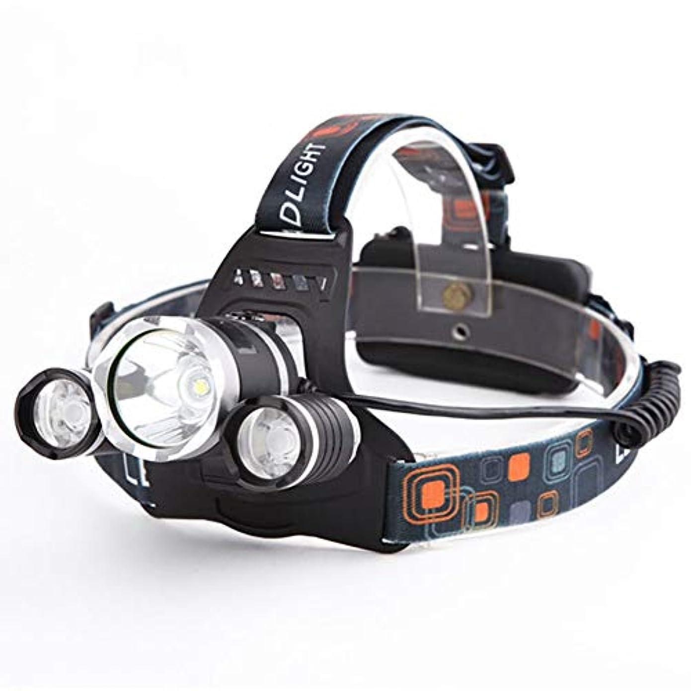 イタリック助言するバケット充電式 LED ヘッドランプ、6000ルーメンUSB充電式LEDヘッドランプ - キャンプ、ハイキング、アウトドア用防水&快適なヘッドライト