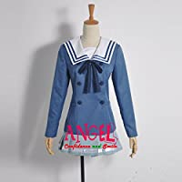 【サイズ選択可】男性Mサイズ A1J00677 コスプレ衣装 境界の彼方 栗山 未来 新堂 愛 女子制服