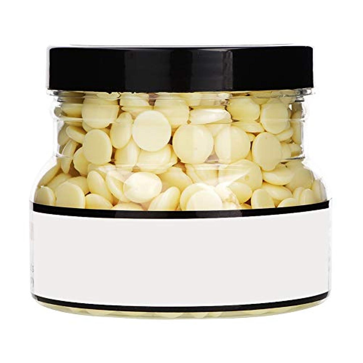 役に立つペイン間違いなくワックス豆、インゲン豆、ハードボディ脱毛脱毛ワックス脱毛ワックスボックス固体淡黄色1PCスタイルの250グラム-01