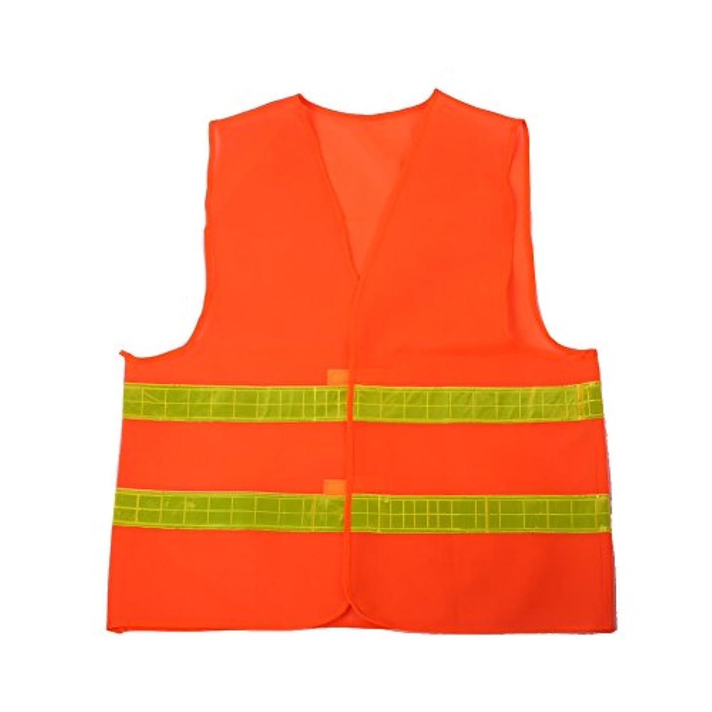 直接り閉塞attachmenttou安全ベスト反射服プレミアム 安全性赤の高い視認性のユニフォームを着用