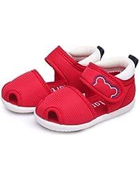 UNOPRO ベビーサンダル 赤ちゃん靴 ベビーシューズ 滑り止め 歩行練習に対応 つま先保護 子供靴