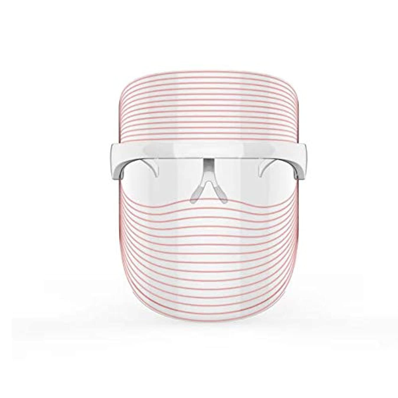 アダルトロードハウス下線3色LEDマスクフェイス&ネックネオン白熱LEDフェイスマスク電動フェイシャルスキンケアフェイススキンビューティー