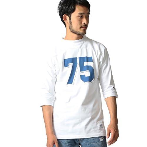 (ビームス) BEAMS CHAMPION×BEAMS/ 別注 フットボールシャツ 11100332411  WHITE M