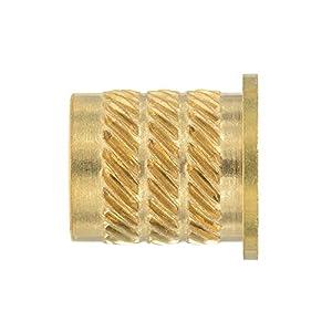 国産 黄銅 ビットインサート フランジ型 M5xD1=8.0xL2=9.2 14ヶ入 HFB-5002