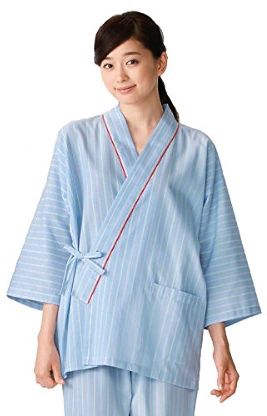 実際に試みる富白衣 検診衣 患者衣 カゼン(KAZEN) 285-98 患者衣(甚平型) 医療 :S~3L