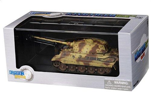 1:72 ドラゴンモデルズ アーマー コレクター シリーズ 60551 ポルシェ Sd.Kfz.182 King Tiger ディスプレイ モデル ドイツ軍 Berlin ドイツ Battle of