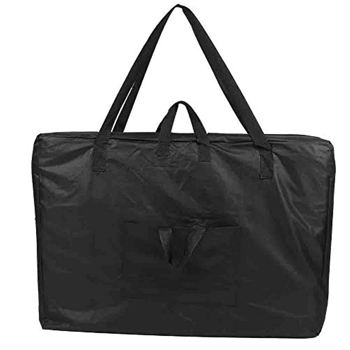 債務者代わりのゴミ箱を空にするlポータブルスパテーブルマッサージベッドキャリングバッグ