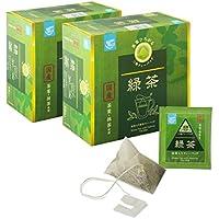 [Amazonブランド]Happy Belly 抹茶入り緑茶ティーバッグ 48袋×2箱 伊藤園製