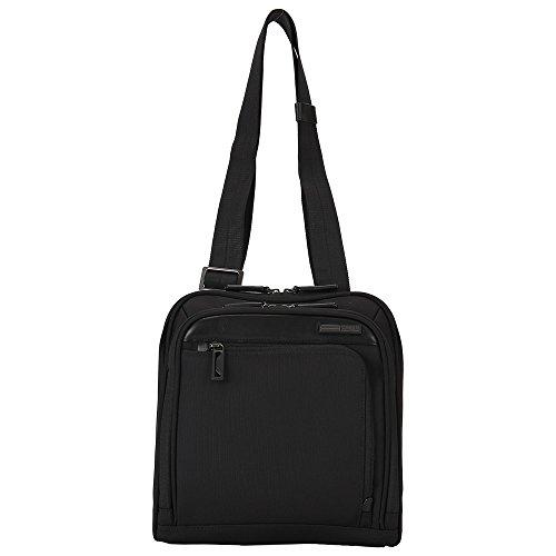 ZERO Halliburton ゼロハリバートン Profile プロファイル Shoulder Bag ショルダーバッグ ブラック PRF201 ボディバッグ ビジネスバッグ並行輸入品