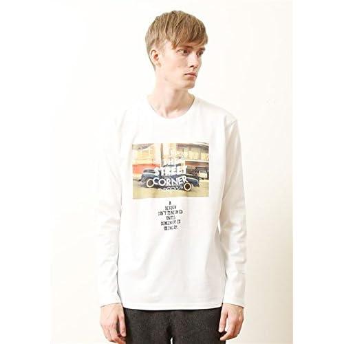 (グラニフ)graniph ベーシックロングスリーブTシャツ / ストリートデイリーフォト ( ホワイト ) M