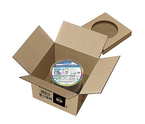 『三菱ケミカルメディア Verbatim 1回録画用 DVD-R DL VHR21HP50V1FFP(片面2層/8倍速/50枚) [フラストレーションフリーパッケージ(FFP)]』の4枚目の画像