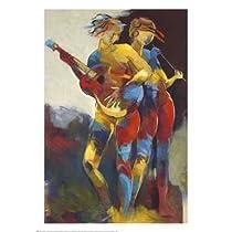 Len Abbott – アーティストデュエット ファインアート プリント (68.58 x 99.06 cm)