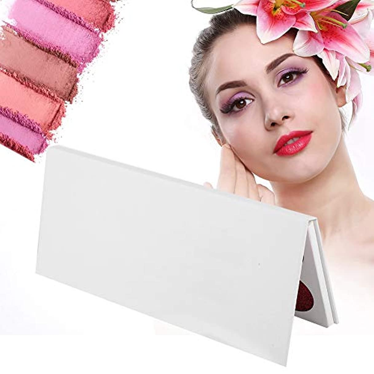 親指飾り羽鉛筆10色アイシャドーパレット 長続きがするアイメイクのための真珠光沢のあるマット