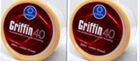 2 Spools X 300m Griffin 40 TKT Cotton Eyebrow Thread Facial Hair Removal - India