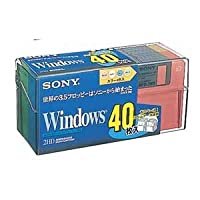 ソニー フロッピーディスク 40MF2HDQDVX 【SONY】