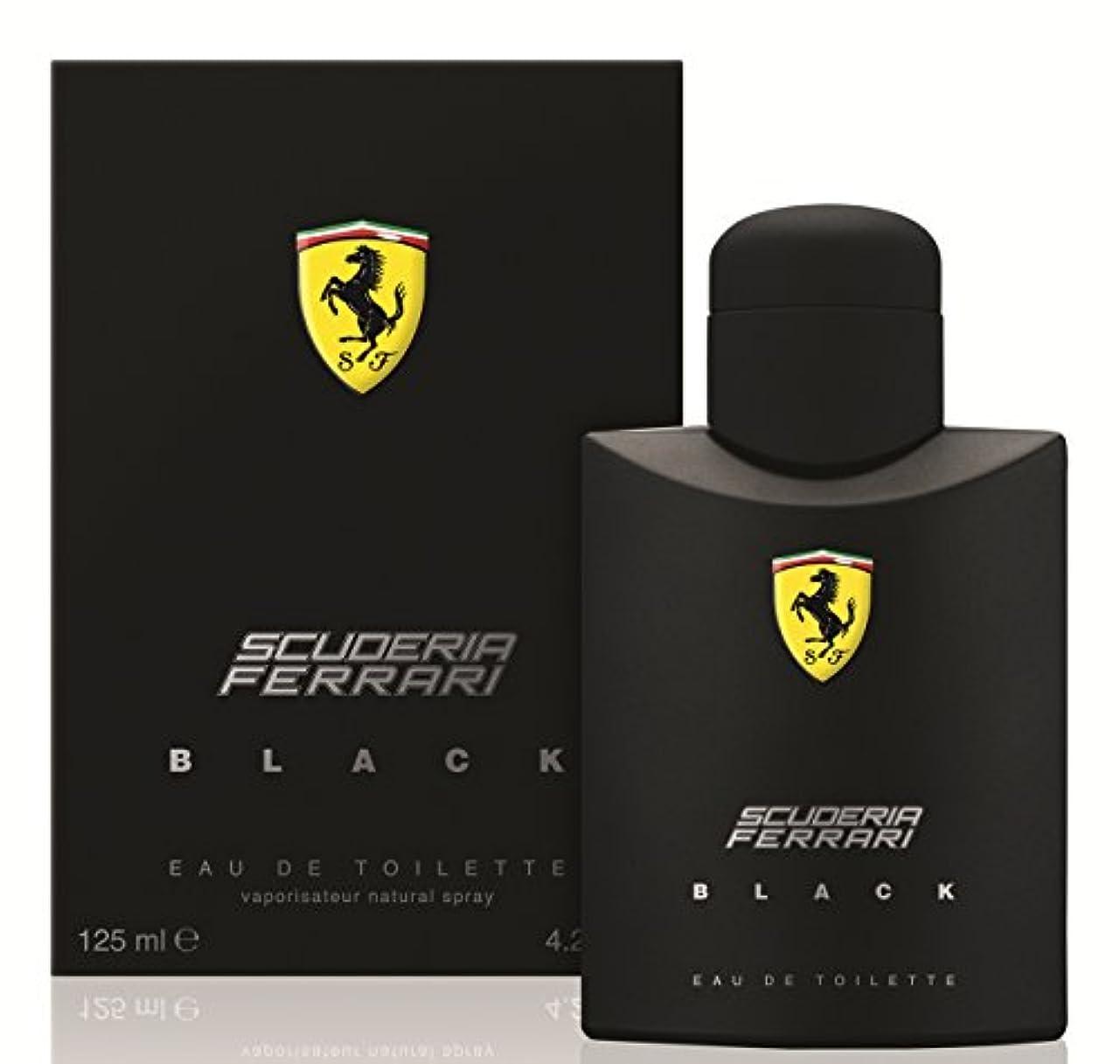 どきどき増幅従者フェラーリ フェラーリ ブラック EDT SP 125ml(並行輸入品)