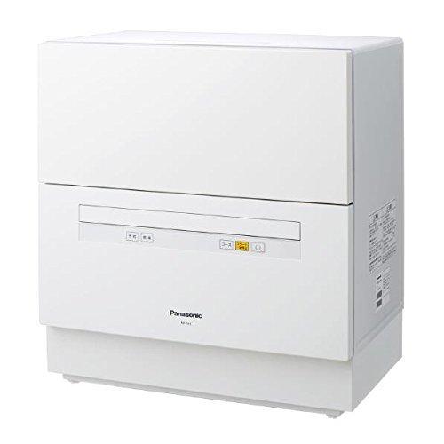パナソニック 食器洗い乾燥機 (ホワイト) (NPTA1W) ホワイト NP-TA1-W