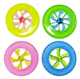 【光る玩具】 光るフライングディスク (24個)  / お楽しみグッズ(紙風船)付きセット