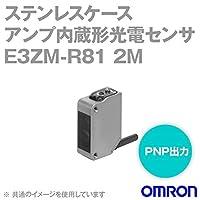 オムロン(OMRON) E3ZM-R81 2M ステンレスケースアンプ内蔵形光電センサ(小型) コード引き出しタイプ (回帰反射形) (検出距離 4m) (PNP出力) NN