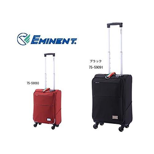 エミネント スーツケース キャリーバッグ 25L 75-59091 ブラック S 代引き不可 バッグ スーツケース mirai1-291947-ak [並行輸入品] [簡易パッケージ品]