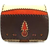 OJAGA DESIGN (オジャガデザイン) GRUS WALLET COW LEATHER Color:画像BROWN