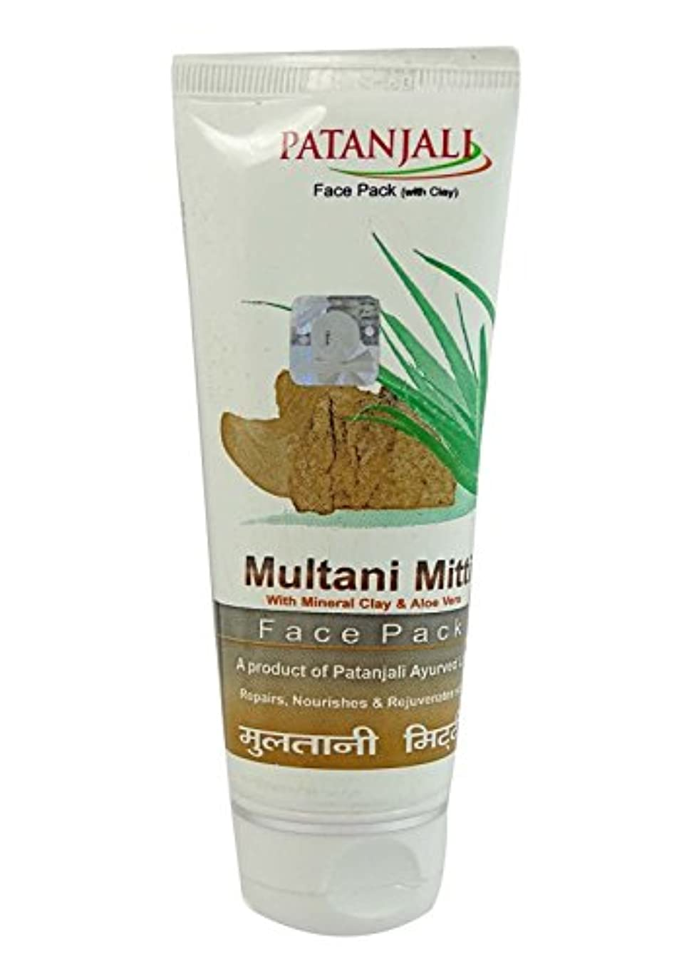 乱闘オーラル強風ムルタニミッティ フェイスパック 60g Multani Mitti Face Pack