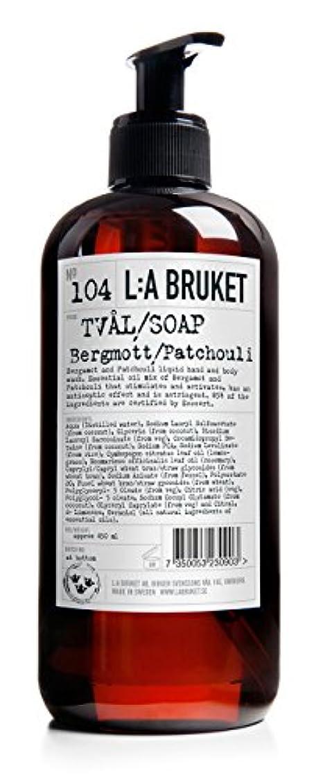 肺炎フェンス真向こうL:a Bruket (ラ ブルケット) ハンド&ボディウォッシュ (ベルガモット?パチョリ) 250g