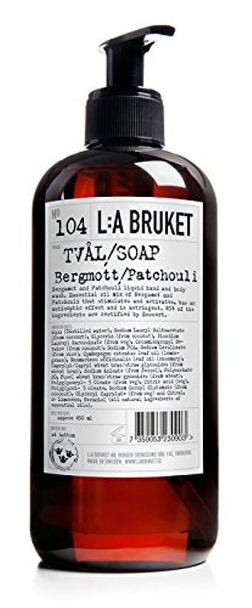 軍団海峡故意のL:a Bruket (ラ ブルケット) ハンド&ボディウォッシュ (ベルガモット?パチョリ) 250g