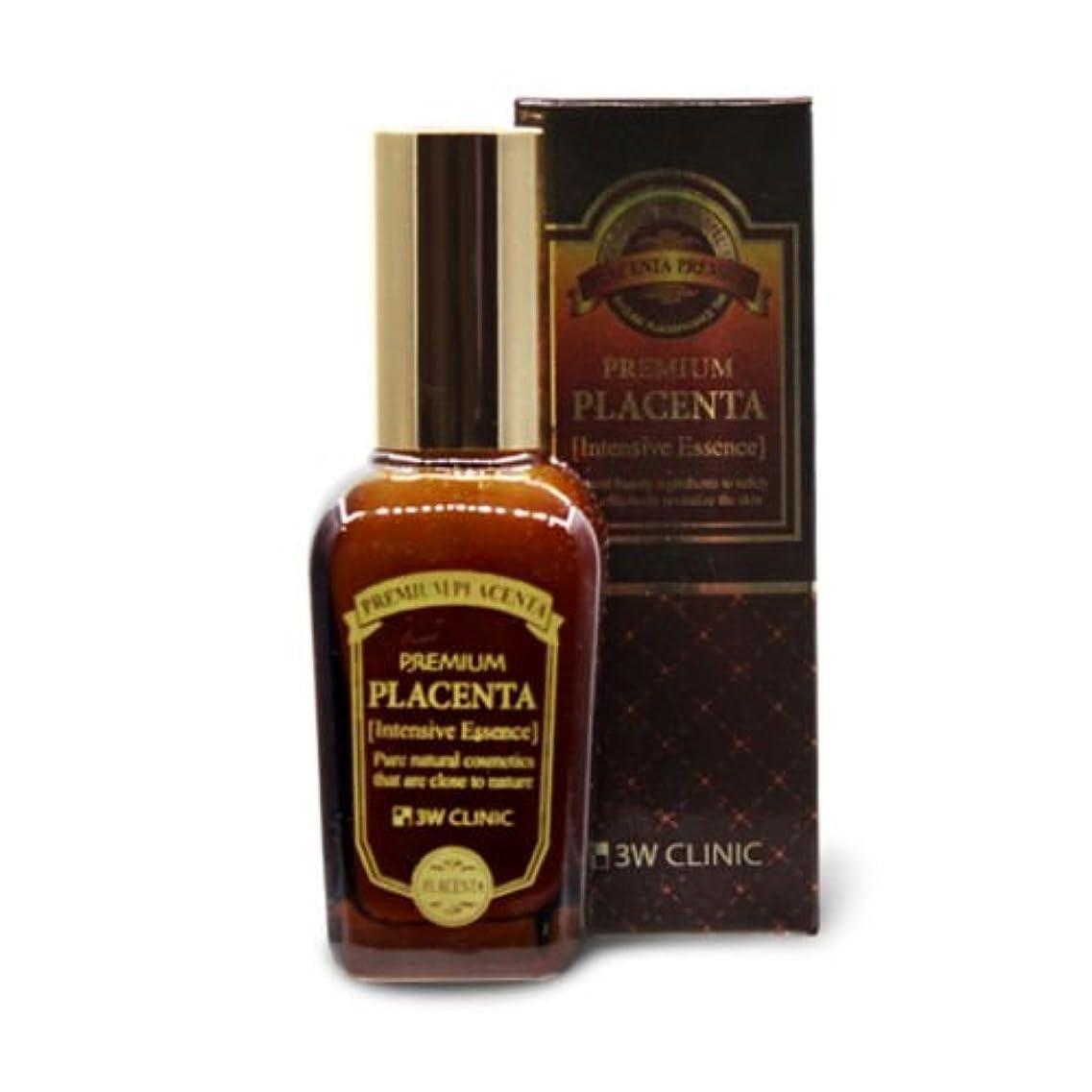 そのような腹部ユーモラス3Wクリニック[韓国コスメ3w Clinic]Premium Placenta Intensive Essence プレミアムプラセンタインテンシブエッセンス50ml[並行輸入品]