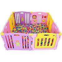 子供のゲームのフェンス、赤ちゃんの安全保護フェンス赤ちゃんの家庭室内幼児のフェンスのアセンブリオーシャンボールプール79 * 3.5 * 63CM (色 : J j)