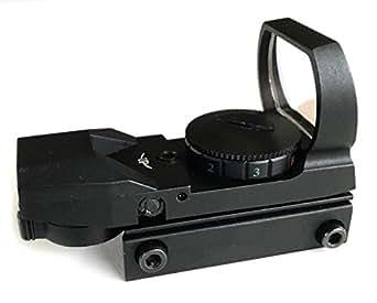 【アウトレット品】 Nitro.Vo タイプ JH400 リフレックス クアトロダットサイト レティクル4種 レッド/グリーン ドットサイト LED ドットサイト レティクル4種 ダットサイト jh400 BK 黒