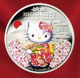SAKURA ハローキティ 公式記念カラー銀貨セット