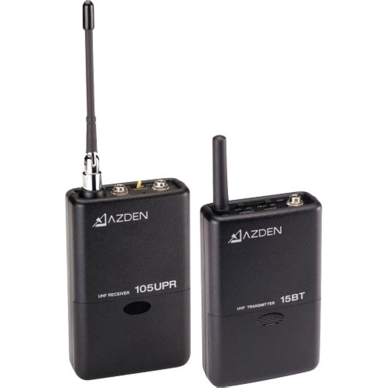 知らせる繁雑謝罪AZDEN アツデン UHF B型ワイヤレスマイクロホンシステム[105LT]