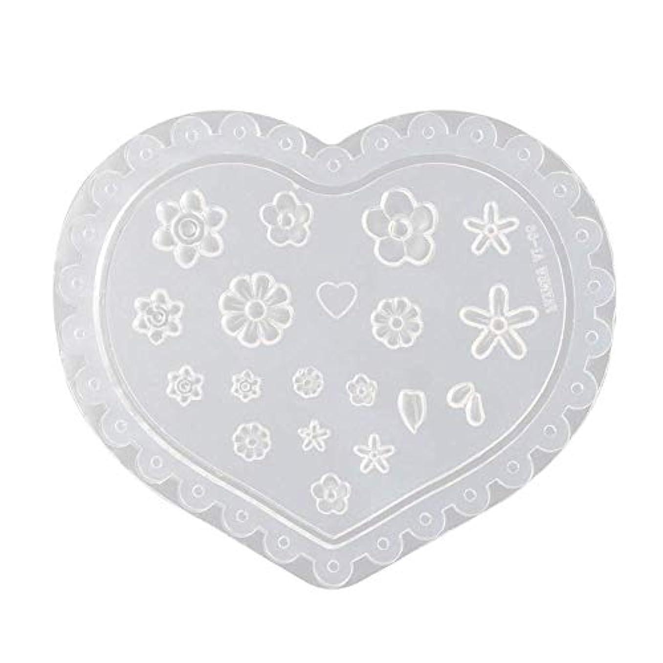 意味するあたたかいボウルcoraly 3Dシリコンモールド ネイル 葉 花 抜き型 3Dネイル用 レジンモールド UVレジン ネイルパーツ ジェル ネイル セット アクセサリー パーツ 作成 (1)