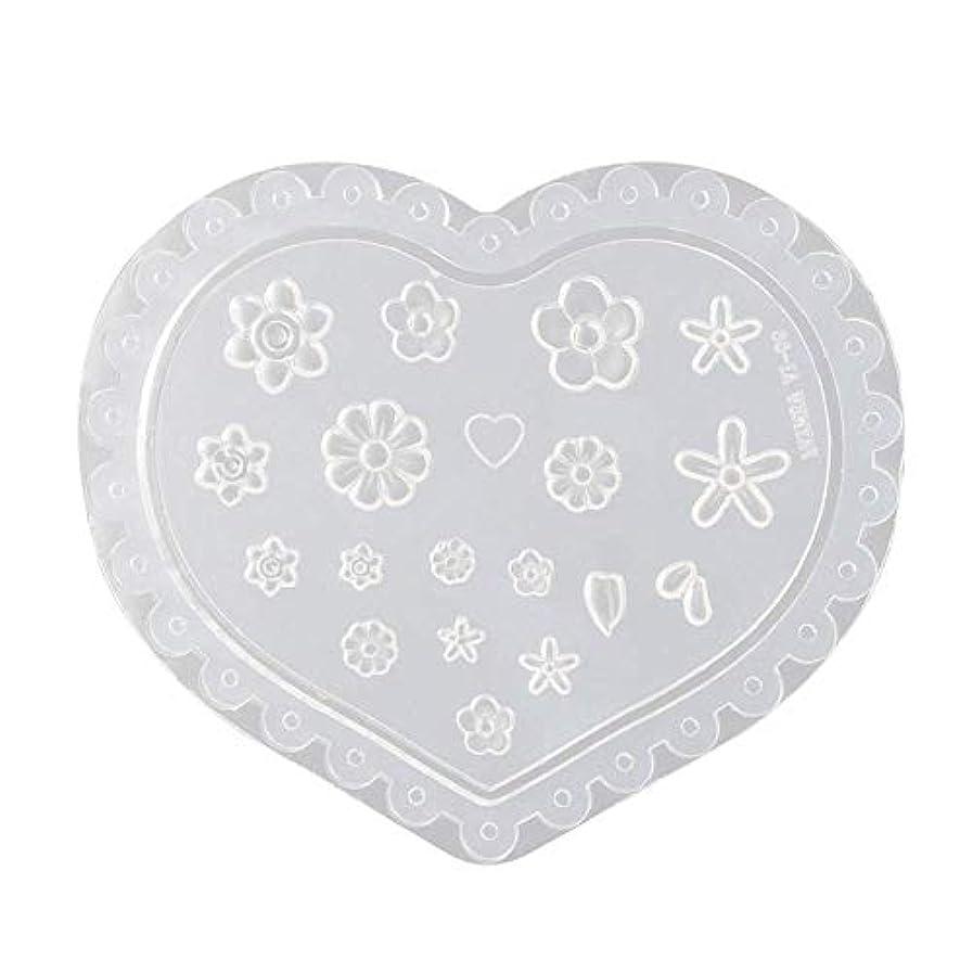 バランス寝室を掃除する統合するcoraly 3Dシリコンモールド ネイル 葉 花 抜き型 3Dネイル用 レジンモールド UVレジン ネイルパーツ ジェル ネイル セット アクセサリー パーツ 作成 (1)